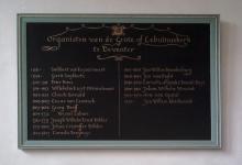 Lijst van organisten Lebuinuskerk